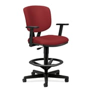 HON® Volt® 5700 Series 49.88in.H Fabric Mid Back Task Stool, Crimson