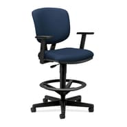 HON® Volt® 5700 Series 49.88in.H Fabric Mid Back Task Stool, Navy