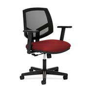 HON® Volt® 5700 Series 40in.H Fabric Mesh Mid Back Task Chair With Centre Tilt, Crimson