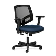 HON® Volt® 5700 Series 40in.H Fabric Mesh Mid Back Task Chair With Centre Tilt, Navy