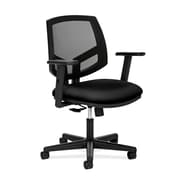 HON® Volt® 5700 Series 34.37 - 38.5H Fabric Mesh Mid Back Task Chair With Synchro Tilt, Black