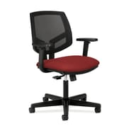 HON® Volt® 5700 Series 34.37in. - 38.5in.H Fabric Mesh Mid Back Task Chair With Synchro Tilt, Crimson