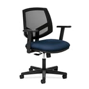 HON® Volt® 5700 Series 34.37in. - 38.5in.H Fabric Mesh Mid Back Task Chair With Synchro Tilt, Navy