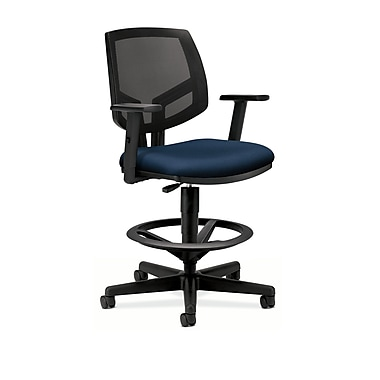 HON® Volt® 5700 Series 49.875in.H Fabric Mesh Mid Back Task Stool, Navy