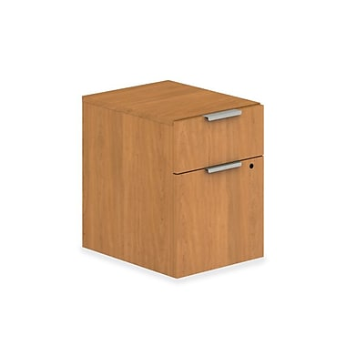 HON® Voi® Laminate Box/File Mobile Pedestal, 2 Drawer, Harvest