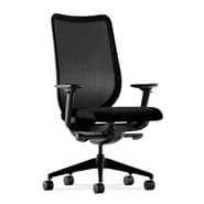 HON® Nucleus Series 38 1/4in. - 42 3/4in.H 100% Polyester Work Chair, Black