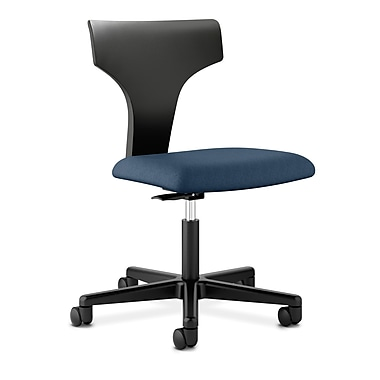 basyx by HON® BSXVL251NW90 VL251 Fabric Office Chair, Navy
