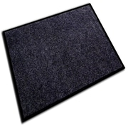 Floortex® Ecotex® Plushmat Rectangular Indoor Entrance Mat, 36 x 48, Charcoal
