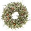 The Christmas Tree Company Seashell and Dried Floral Wreath 22in.