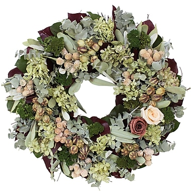 The Christmas Tree Company Dried Floral Wreath 16