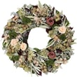 The Christmas Tree Company Dried Floral Wreath 18in.