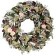The Christmas Tree Company Dried Floral Wreath 22in.