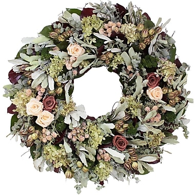 The Christmas Tree Company Dried Floral Wreath 22