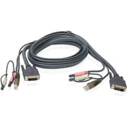 Iogear Single Link DVI-I USB KVM Cable 6 ft.