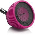Philips Personal and Portable Bluetooth Speaker SB2000P/37 Wireless, Pink