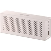 Global Marketing Partners Bluetooth Speakers V5-BT1-W With 18 Hour Rechargeable Battery, White