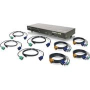 """Iogear 8-Port USB Combo VGA KVMP Switch with Cables 1.7"""""""
