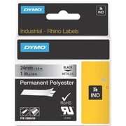 DYMO Rhino 1805434 Metallic Permanent Polyester Labels