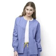 WonderWink® Delta Unisex Round Neck Jacket, Ceil Blue, XS