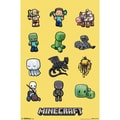 Trends International® Minecraft Characters Poster, 22in. x 34in.
