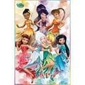Trends International® Disney Fairies Friends Poster, 22in. x 34in.