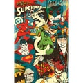 Trends International® DC Comics Throwback Poster, 22in. x 34in.