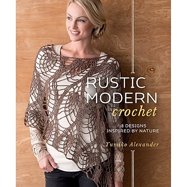 Interweave Press Rustic Modern Crochet Book