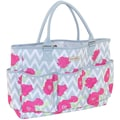 Everything Mary® Yarn Tote, Chevron Roses