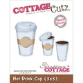 CottageCutz® 3in. x 3in. Universal Thin Die, Hot Drink Cup