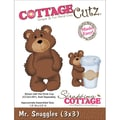 CottageCutz® 3in. x 3in. Universal Thin Die, Mr. Snuggles