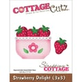 CottageCutz® 3in. x 3in. Universal Thin Die, Strawberry Delight