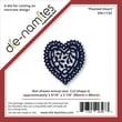 Die-Namites 3.06in. x 3.87in. Universal Cut Die, Heart Frame