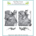 Chapel Road 5 3/4in. x 6 3/4in. Cling Mounted Rubber Stamp Set, Large Brick Artishapes