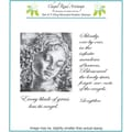 Chapel Road 5 3/4in. x 6 3/4in. Cling Mounted Rubber Stamp Set, Madonna
