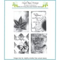 Chapel Road 5 3/4in. x 6 3/4in. Cling Mounted Rubber Stamp Set, Artishapes 2