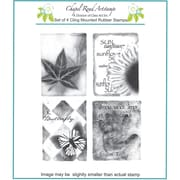"Chapel Road 5 3/4"" x 6 3/4"" Cling Mounted Rubber Stamp Set, Artishapes 2"