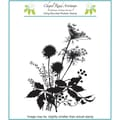 Chapel Road 5 3/4in. x 6 3/4in. Cling Mounted Rubber Stamp Set, Queen Ann Lace