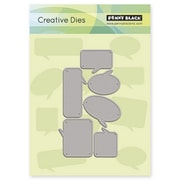 "Penny Black® 2.8"" x 4.8"" Creative Die, Chat Bubbles"