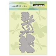 """Penny Black® 2.1"""" x 5.3"""" Creative Die, Flutters"""