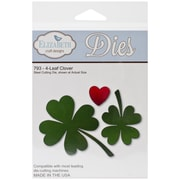 Elizabeth Craft Designs Die Set, 4-Leaf Clover