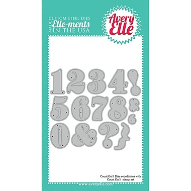 Avery® Elle Elle-Ments Count On It Custom Die