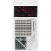 """Kellycraft™ EZ-De's 4"""" x 6"""" Clear Stamps Sheet, Star Set A"""