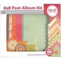We R Memory Keepers™ 8in. x 8in. Postbound Album Kit