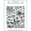 """Chapel Road 5 3/4"""" x 7 3/4"""" Cling Mounted Rubber Stamp Set, Snowflakes Everywhere"""