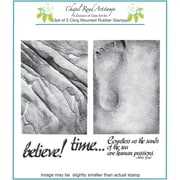 Chapel Road 5 3/4 x 7 3/4 Cling Mounted Rubber Stamp Set, ATC Sands