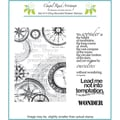 Chapel Road 5 3/4in. x 7 3/4in. Cling Mounted Rubber Stamp Set, Find Your Way