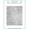 Chapel Road 5 3/4in. x 7 3/4in. Background Cling Mounted Rubber Stamp, Mesh