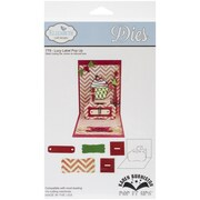 "Elizabeth Craft Designs Pop It Up™ 3 1/4"" x 1 3/4"" Die Set, Lucy Label Pop-Up"