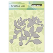 "Penny Black® 5.1"" x 4.4"" Creative Die, Leaves"