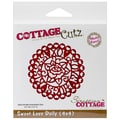 CottageCutz® 4in. x 4in. Universal Thin Die, Sweet Love Doily